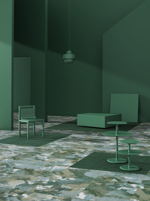modulyss carpet tiles Fluid& 604