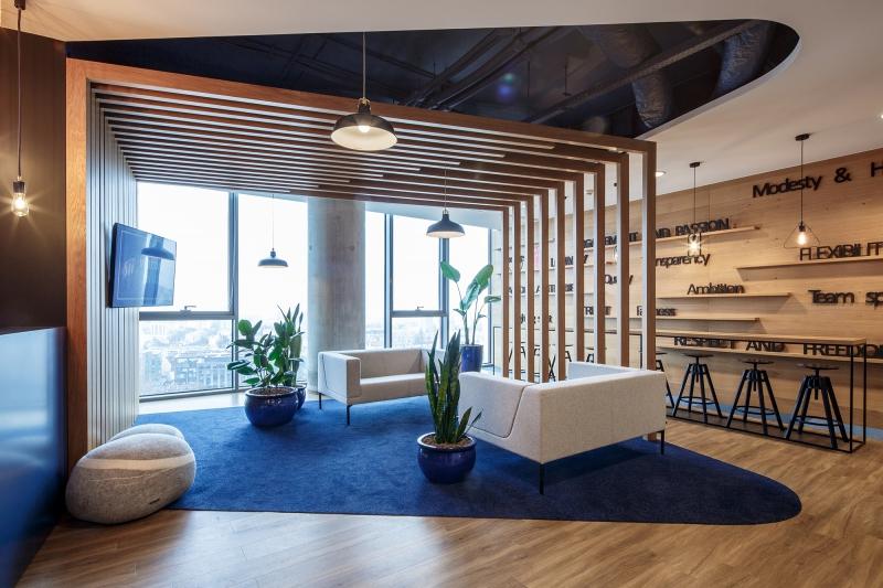 modulyss carpet tiles Olivia Business Center