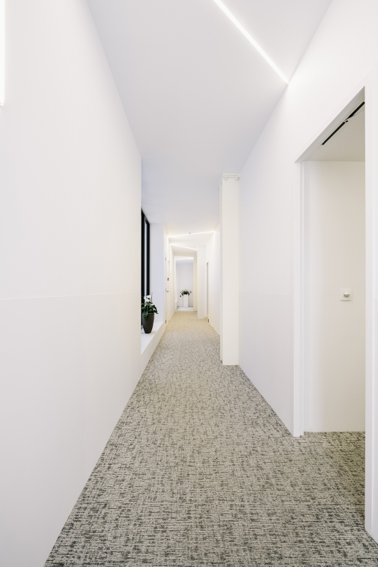 modulyss carpet tiles Bourgoensch Hof