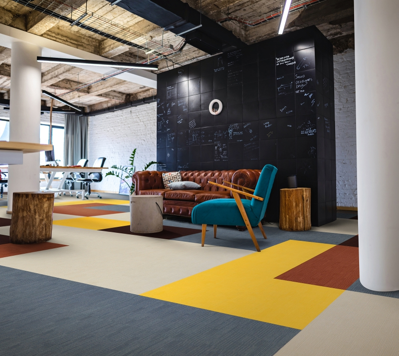 modulyss carpet tiles Fashion& retro