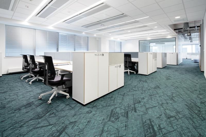 modulyss carpet tiles Santander Warszawa