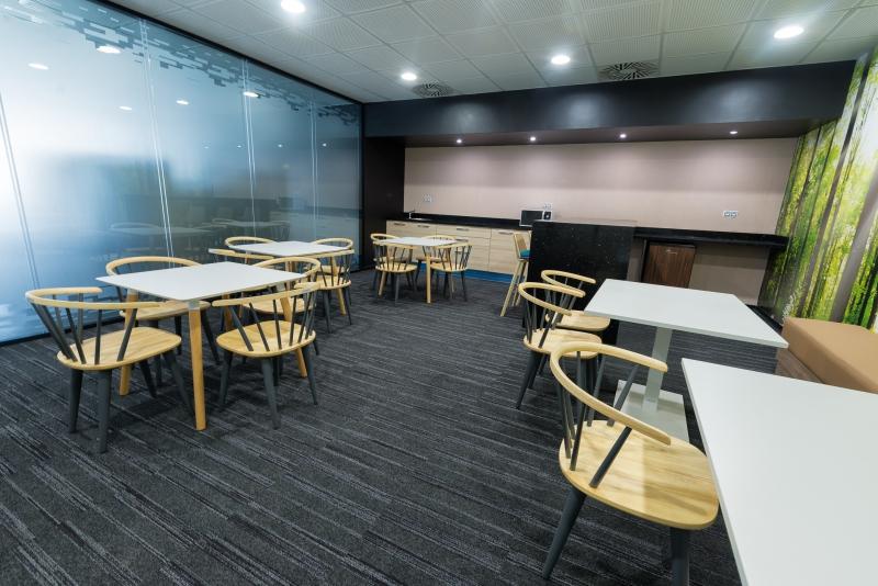 modulyss carpet tiles Nida, Hewlett Packard Offices
