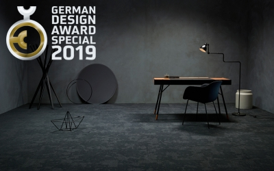 modulyss carpet tiles German Design Award 2019
