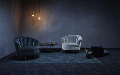 Velvet& carpet tiles