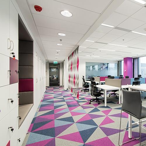 modulyss carpet tiles Bank Millennium