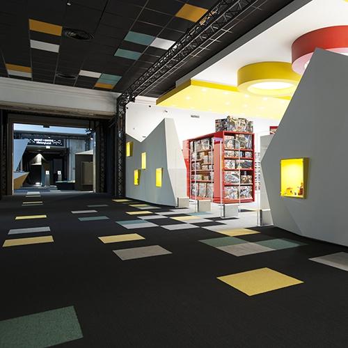modulyss carpet tiles HistoryLand