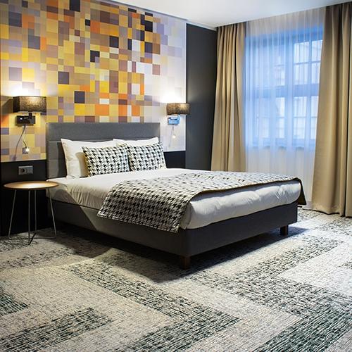modulyss carpet tiles Hotel IBB