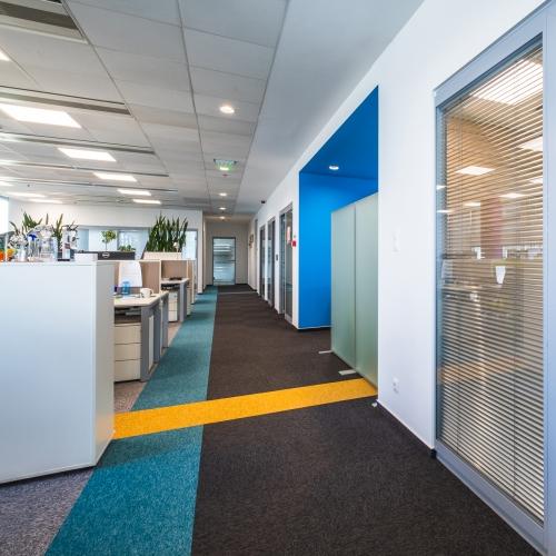 modulyss carpet tiles Millennium Tower Office