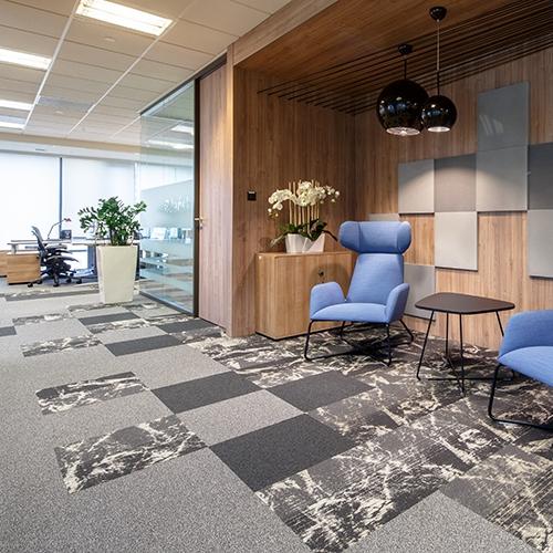 modulyss carpet tiles Park Postepu