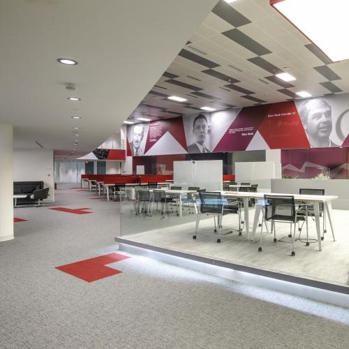 modulyss carpet tiles Babson University