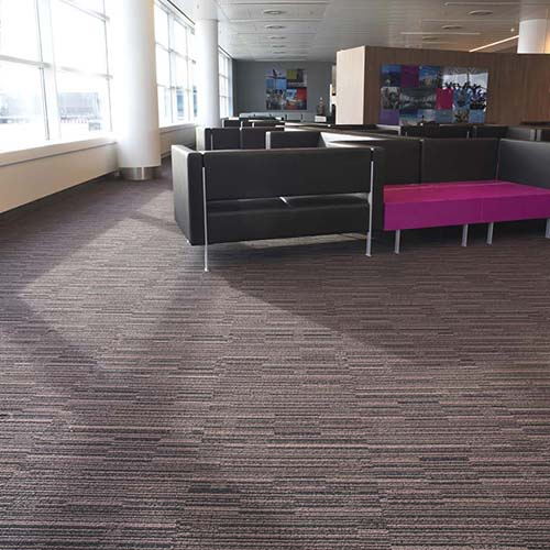modulyss carpet tiles Brussels Airport - Pier B