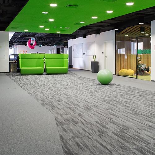 modulyss carpet tiles Konstruktorska Business Center
