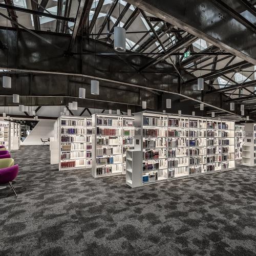 modulyss carpet tiles | La Maison du Livre
