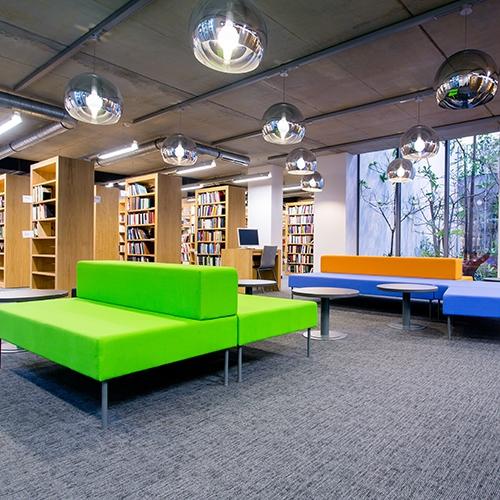 modulyss carpet tiles Biblioteka Racynskich