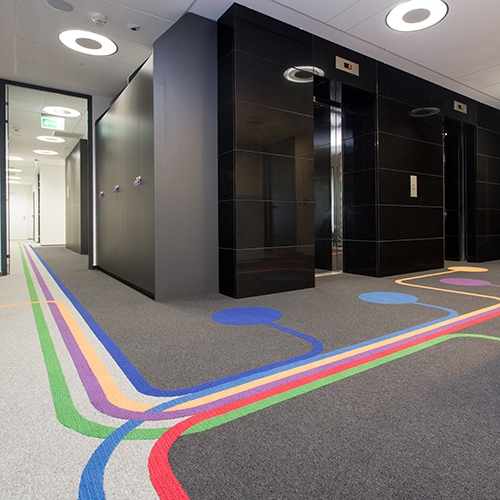 modulyss carpet tiles MediaHUB