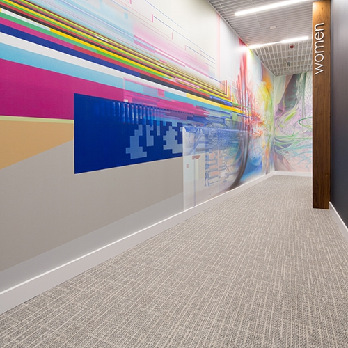 modulyss carpet tiles Real Management Royal Wilanow